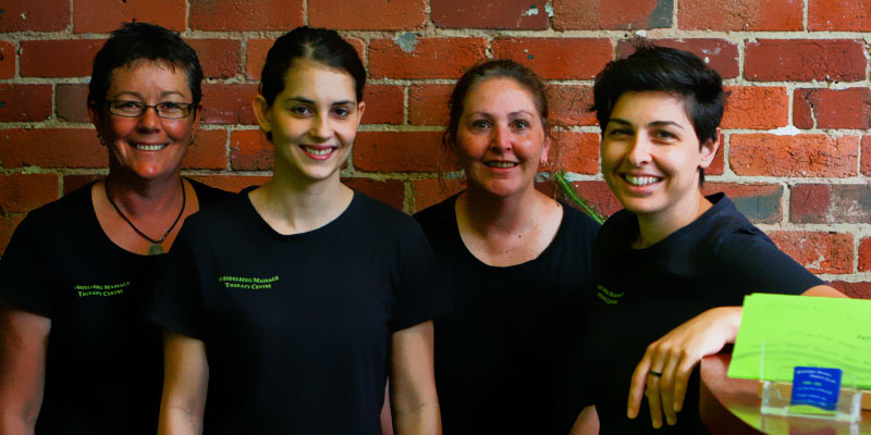 The experienced team at Heidelberg Massage Therapy Centre in Melbourne
